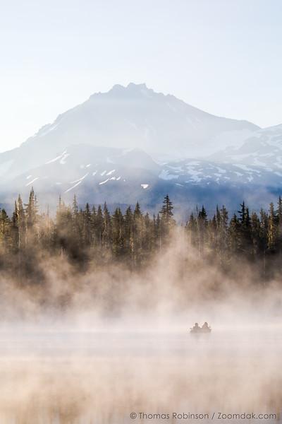 Morning Mist at Scott Lake