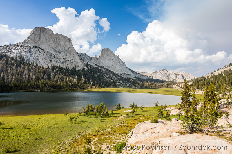 Matthes Lake and Matthes Crest