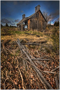 Cross Hollow Barn 1, Farm, Oregon, artistic, fine art, HDR