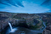 Palouse Falls Late Evening, Horizontal