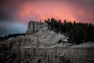 Sun Set at Bryce Canyon