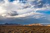 Nevada and California Border
