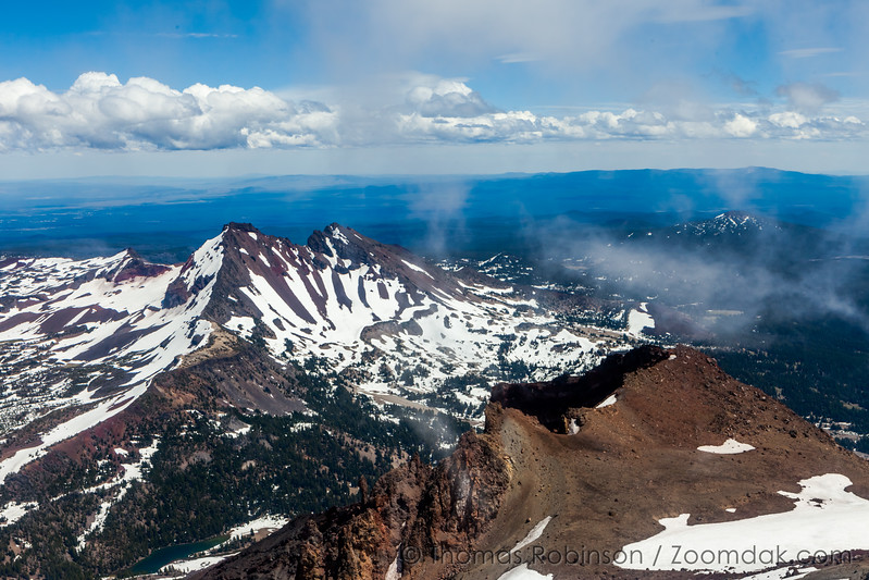 Broken Top from South Sister, Horizontal