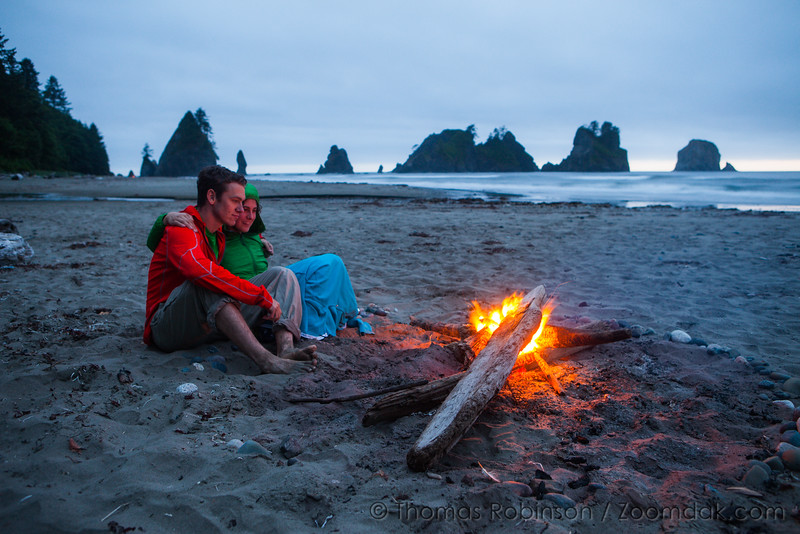 Camping at Shi Shi Beach, Washington Coast