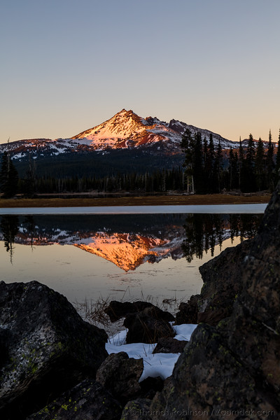 Broken Top Alpenglow