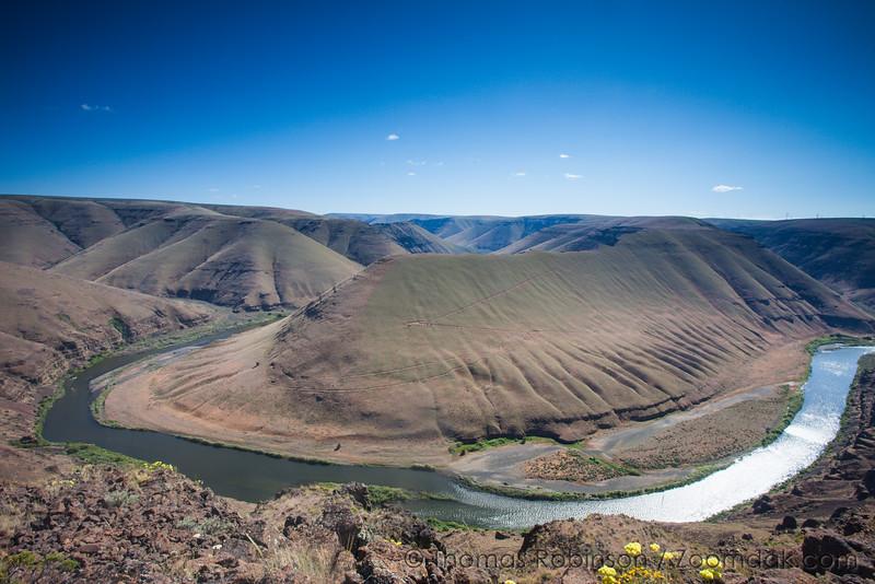 John Day River Bend