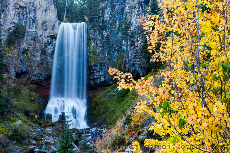 Fall Color at Tumalo Falls