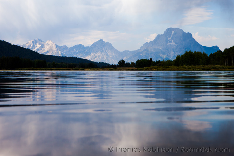 Teton Range Reflection