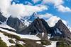 Mont Blanc from Col de la Seigne