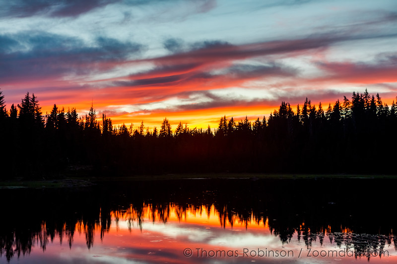 Central Oregon Sunset Reflection