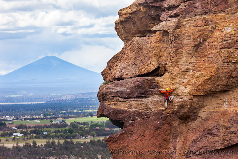 Mouth of Monkey Face  and Climber