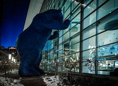 Big Blue Bear