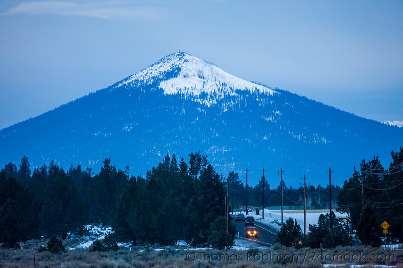Snow Covered Black Butte