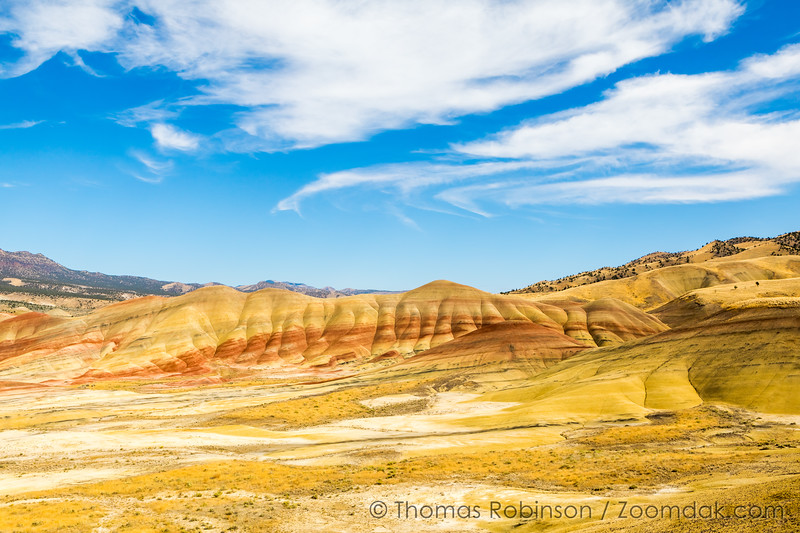 Painted Hills Wide View