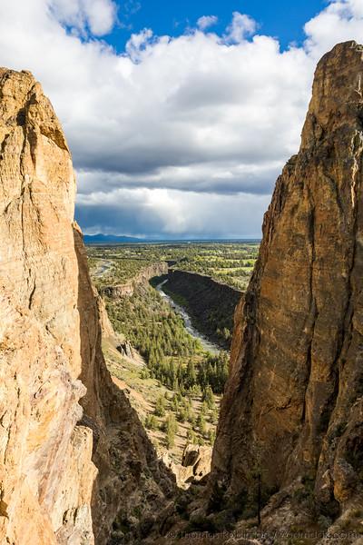 Canyon Gap at Smith Rock