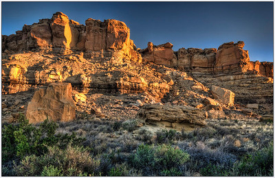 New Mexico, Chaco Canyon, Landscape,landscape, Fine Art