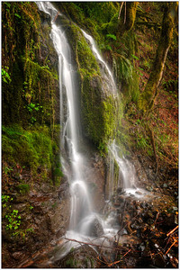 Split falls, water falls, Oregon, Fine art