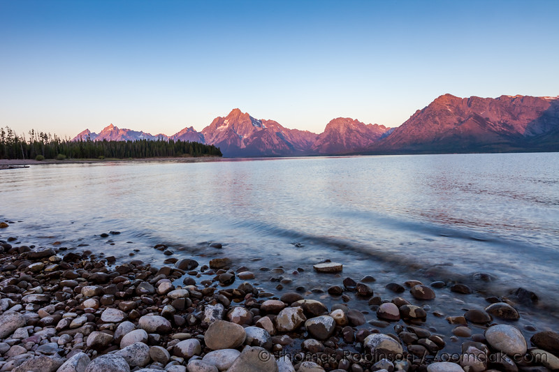 Jackson Lake Sunrise