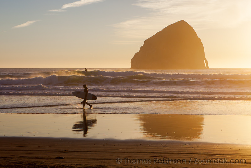 Surfer at Pacific City