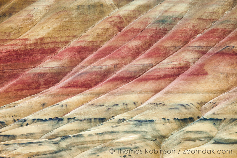 Painted Hills in Overcast Light