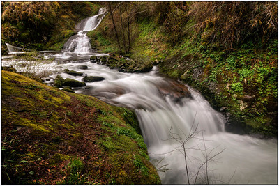 Roadeside, OR, waterfalls, Oregon, fine art