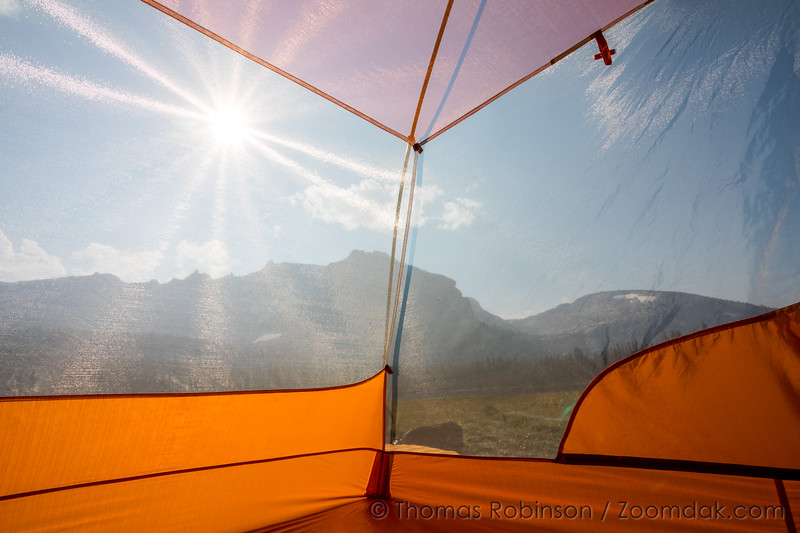 Backcountry Tent View