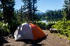 Camping at Scott Lake