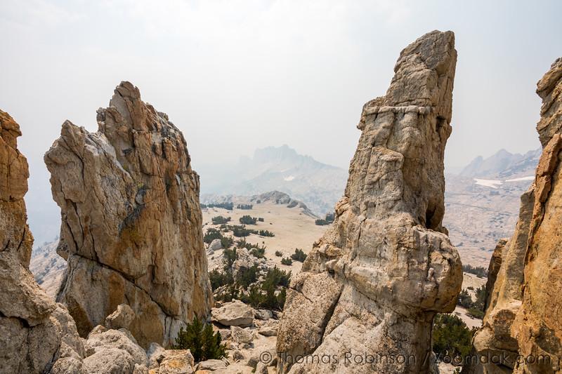 Inside Cockscomb Peak