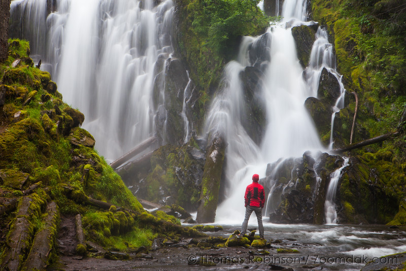 Outstanding Pacific Northwest Waterfall