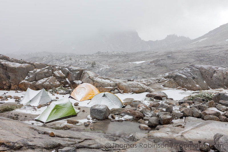 Camping in the Core Zone Enchantments