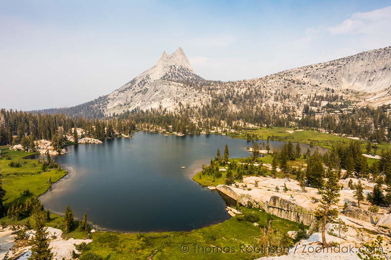 Upper Cathedral Lake, Midday