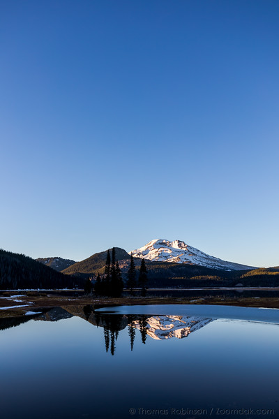 Blue Bird Skies Above Sparks Lake