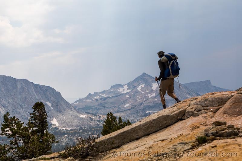 Hiker and Vogelsang