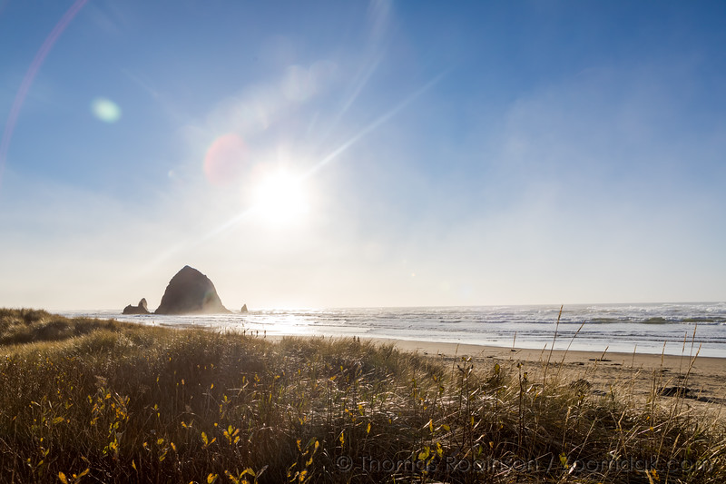 Winter Skies Over Cannon Beach