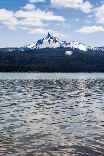 Mount Thielsen from Diamond Lake