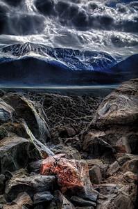 Eastern Sierra from Panum Crater