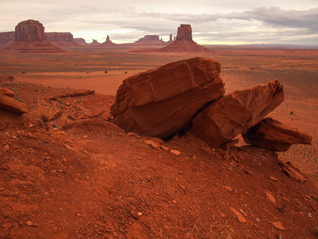 Monument Valley on the Navajo Nation