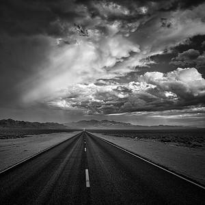 Heading to Rachel, Nevada.