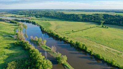 Minnesota River at Upper Sioux Agency SP