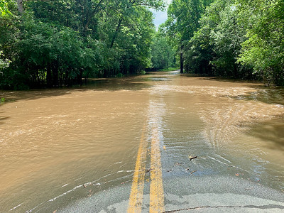 Trout Brook Road Under Water