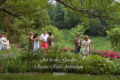 Art in the Garden ... Reception June 2, 2007.