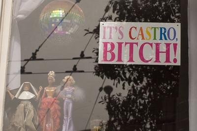 Window on Castro Street