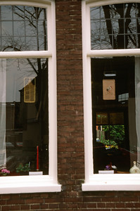 Windows in Hoorn, Netherlands
