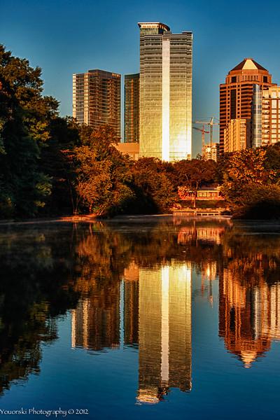 Lake Clara Meer at Piedmont Park in Atlanta GA