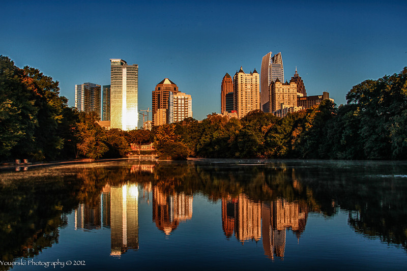 Lake Clara Meer at Piedmont Park in Atlanta GA
