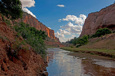 """Water Coloured"", Keet Seel, Navajo National Monument, Arizona"