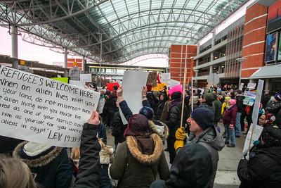 Refugee Immigration Protests (2017)