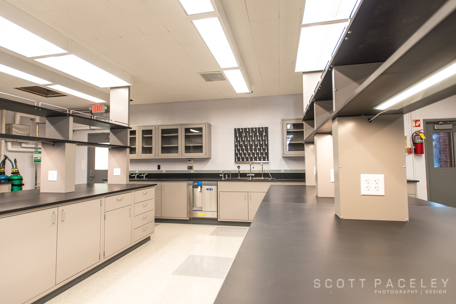 Sanitary District Lab renovation project by Reifsteck Reid Architects