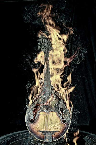 Burning Mandolin