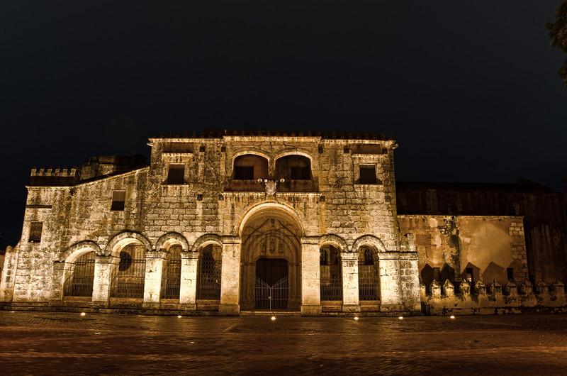 Catedral Primada de America, 1541. North Entrance<br /> Calle Arz. Merino-Plaza Colon, Santo Domingo, Dominican Republic